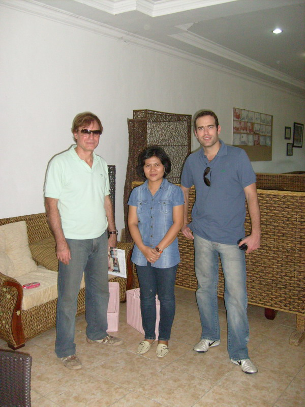 Ms.Ipur with Mr. Eldo and Mr. Mauro