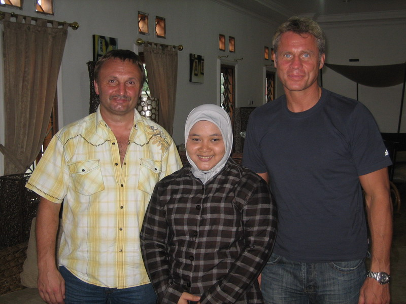 Me (Ms. Susi) with Mr Emil Adolph & Mr. Manfred Richter