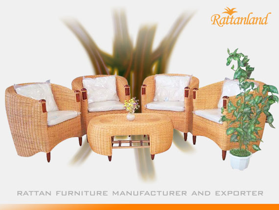 San Juan with Cushion Set