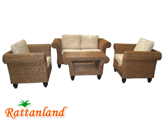 Madrid Wicker Set